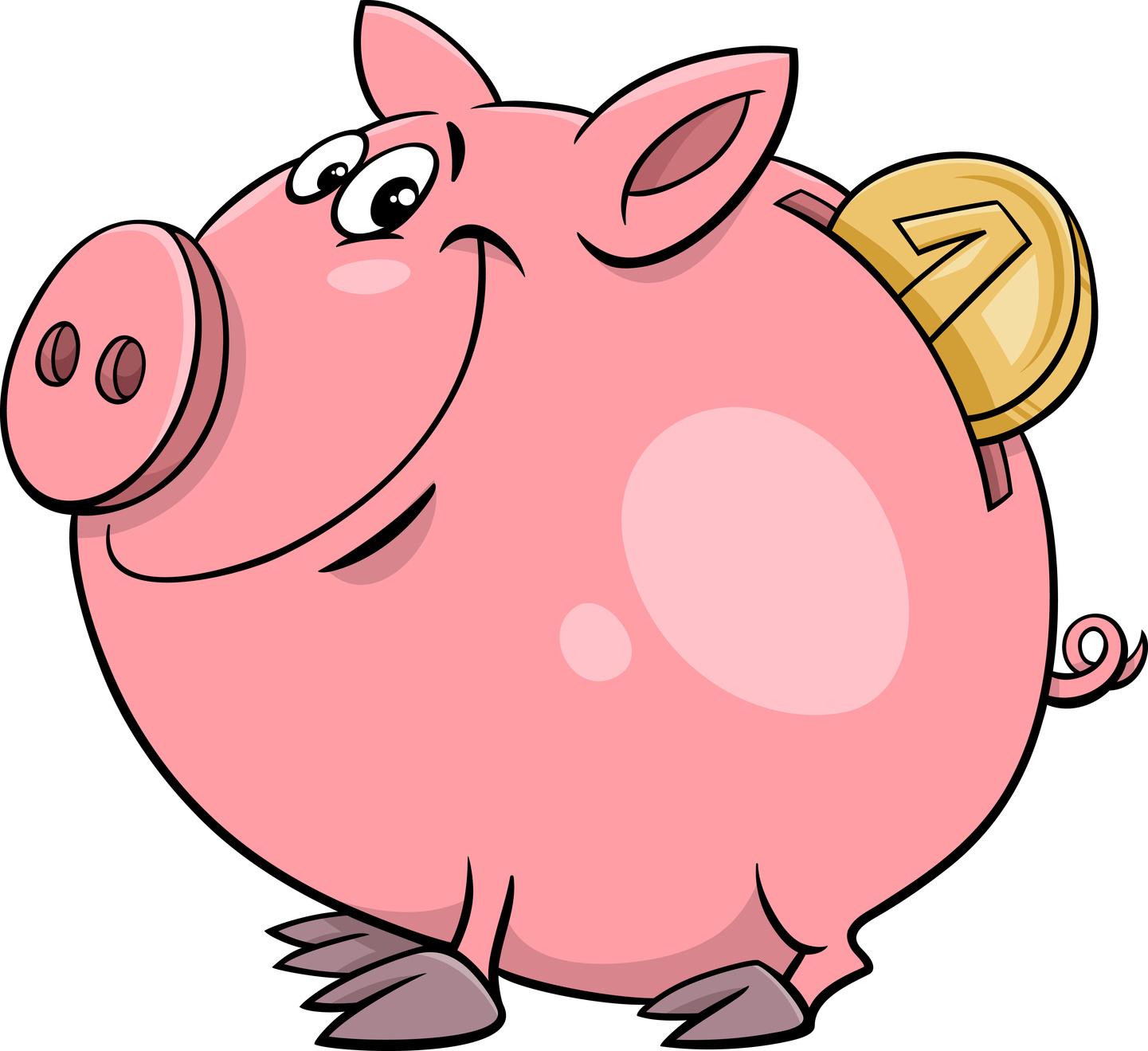 这款虚拟小猪面向年轻的移动消费者推向市场