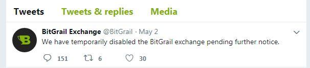 意大利加密货币交易所BitGrail的任务暂停