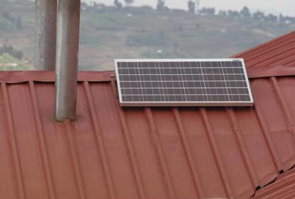 太阳能正在改变生活 卢旺达偏远乡村的感言