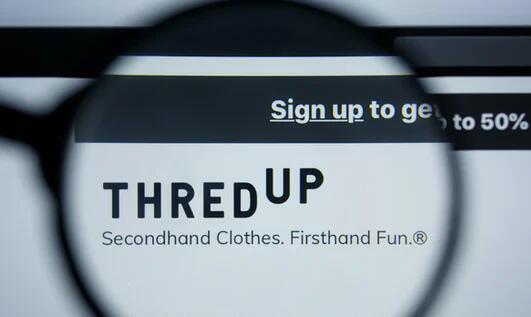 ThredUp在首次公开募股后报告中公布收入增长15.2%